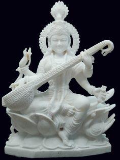 Online shopping of Maa Saraswati Murti, statue and murti for hindu god - goddess. Please send us quotation request. Saraswati Photo, Saraswati Statue, Saraswati Goddess, Shiva Shakti, Saraswati Murti, Lord Ganesha, Lord Shiva, Lord Krishna Images, Art Hub