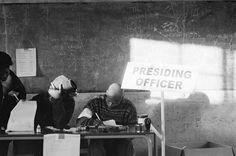 """Santu Mofokeng - """"27 April 1994."""" Elections in Bloemhof."""