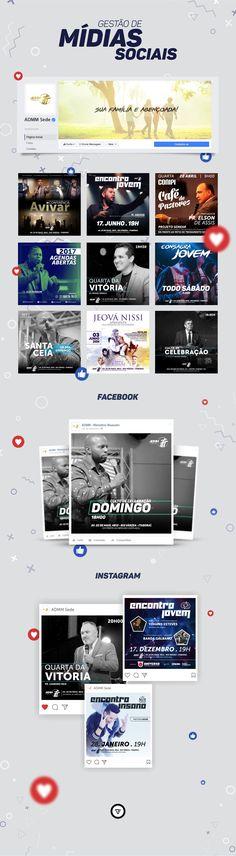 Social Media - ADMM on Behance