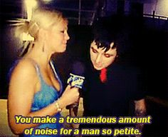 Billie Joe... It is true though...