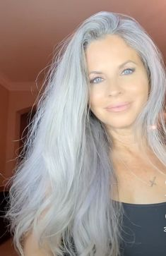Long Gray Hair, Grey Hair, Long Ponytails, Silver Foxes, Wild Hair, Mechanical Design, Going Gray, Color Plata, Silver Age