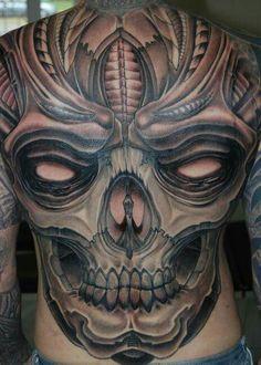 Skull Tattoo Design, Skull Tattoos, Tattoo Designs Men, Body Art Tattoos, Girl Tattoos, Tattoos For Guys, Sleeve Tattoos, Tatoos, Horror Tattoos