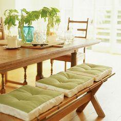 Cute bench cushions