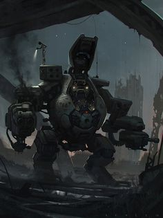Robot by SaeedRamez on DeviantArt
