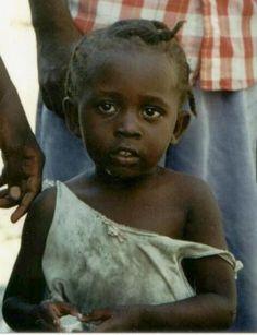 Little girl from Haiti