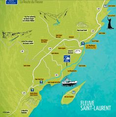 VISITER BAIE SAINT PAUL ET LA COTE DE CHARLEVOIX - Chouette World - Blog voyage Charlevoix Quebec, Baie St Paul, Malbaie, La Rive, Clermont, Parc National, Blog Voyage, Routes, Map