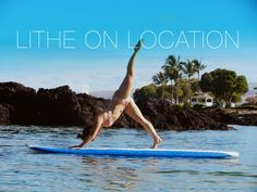Check out this #LitheonLocation from Lither Emily on the big island in Hawaii. Awesome form, Emily!
