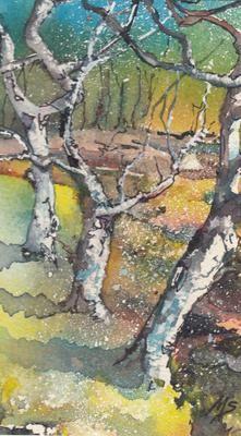 Miriam Smith Three Trees - Beauly Gallery