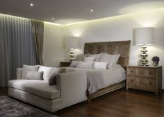 Recamara Principal Casa GL : Quartos modernos por VICTORIA PLASENCIA INTERIORISMO