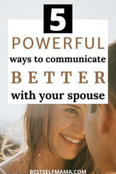 Learning how to communicate better with your spouse is so essential to the success and happiness of your marriage. These 5 simple and powerful tips are sure to help you out tremendously. #communication #marriage #marriagetips #marriageadvice #howtocommunicatebetterwithspouse #relationships #relationshiptips Best Marriage Advice, Healthy Marriage, Marriage Goals, Strong Relationship, Relationships, How To Communicate Better, Things To Come, Good Things, Married Life