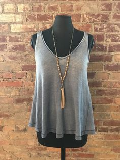 awesome WE THE FREE VINTAGE WASH TANK NWT