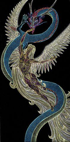 Dragon Flight by Lakandiwa