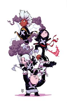 Uncanny X-Force #1 Scottie Young variant