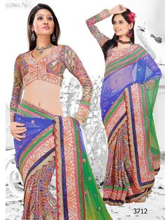 Party Wear, Ethnic Drapes, Excellent Colors