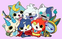 Hovernyan and Jibanyan start randomly fighting. Whisper tries to shove people away with his Yo-Kai Pad and ends up breaking the scream, then floats away sobbing.  True story.