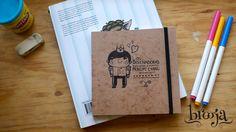"""Artículo Único Sketchbook """"Principe Cyan"""" Formato: 15x15 cm 72 hojas Papel bond ahuesado 90 gr Pasta blanda papel kraft sena.  Pide el tuyo en: https://www.kichink.com/stores/brooja #brooja #sketchbook #notebook #kraft #libreta #cuaderno #design #diseño #illustration #ilustración #sharpie #suupergirl"""