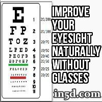 After you read these tips and techniques to improve your eyesight, you're going to see DRAMATIC improvements in mere minutes - without the help of glasses, contacts or laser surgery.