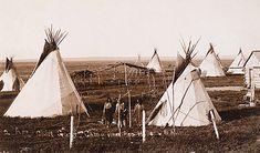 An Arapaho Camp (Early 1890s).