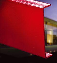 Pilkington Profilit™ T Color – toughened and enamelled profiled glass. Natural Light, Enamel, Range, Colours, Texture, Glass, Surface Finish, Vitreous Enamel, Cookers