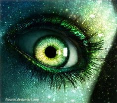 It's All in the Eyes: 100 Beautiful Photo Manipulations - Tuts+ Design & Illustration Article (Stars in your Eyes)
