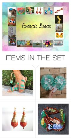 """Fantastic Beasts: Original Fantasy Gift Ideas"" by paulinemcewen ❤ liked on Polyvore featuring art"