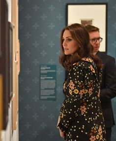 February 28, 2018 Catherine, Duchess of Cambridge visits the 'Victorian Giants' exhibition at National Portrait Gallery in London, England