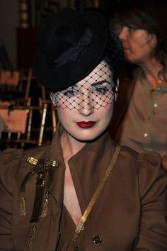 Dita Von Teese Hats