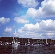 Huntington Harbor in Huntington, NY