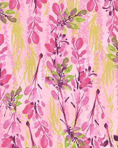 Scatter Joy - Wisteria Sprigs - Blossom Pink/Gold