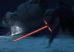 Powerful images by Pablo Carpio Maraver, a talented concept artist and illustrator from Madrid, Spain. Luke Skywalker Force Awakens, Star Wars Luke Skywalker, Star Wars Vii, Star Trek, Star Wars Concept Art, Episode Vii, Star Wars Pictures, Star Wars Collection, Star Wars Episodes