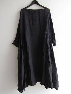 DANIELA GREGIS(ダニエラグレジス):DANIELA GREGIS(ダニエラグレジス) ワンピース/買取実績/ナチュラル系ブランド宅配買取専門店ドロップ[drop] Monochrome Fashion, Minimal Fashion, Picnic Dress, Frock Dress, Shabby Look, Boho Fashion Summer, Dress Making Patterns, Contemporary Fashion, Fashion Outfits