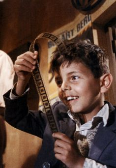 """Whatever you end up doing, love it. The way you loved the projection booth when you were a little squirt."" - Cinema Paradiso"