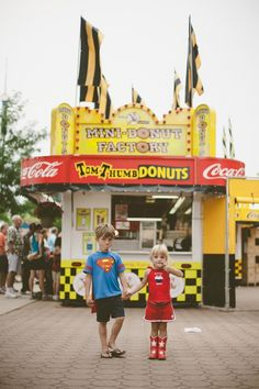 Say Cheese Curd! Family portrait session at the MN State Fair!