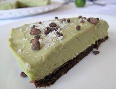 Raw Chocolate-Coated Key Lime Pie