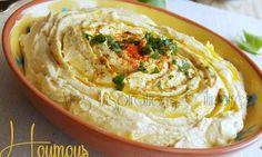 Houmous recette libanaise Je vous propose Houmous une recette libanaise qui est un délicieux...