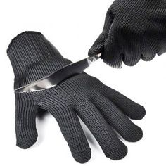 3 Pair Cut Proof Stab Protect Stainless Steel Wire Outdoor Gloves Cut Metal Mesh Butcher Anti-cutting Breathable Gloves Fc Cheap Sales 50% Camping & Hiking Back To Search Resultssports & Entertainment