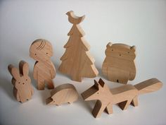 wooden toy set