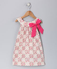 Bow on yoke dress