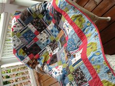 Quilt that was made for a boy