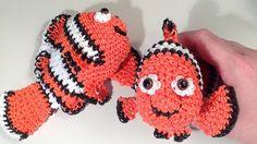 Nemo Part 1 Loomigurumi Amigurumi Rainbow Loom Band Crochet Hook Only Fi...