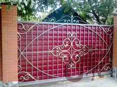 недорогие металлические кованые ворота