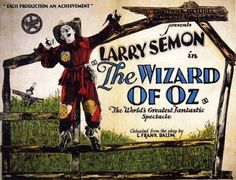 The Wizard Of Oz (1925) - Dorothy Dwan, Charles Murray, Oliver Hard