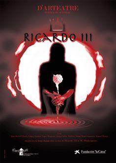 "Cartel para ""Ricardo III""."