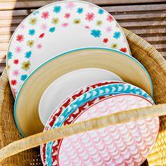 zdjęcie dodatkowe 1 Lina Floral talerz sałatkowy