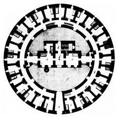 Dieter Jetter, Lunatics' Tower, Plan, Vienna, Austria, 1784