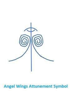Angel Wings symbol used for attuning to Angel Wings as well as in healing sessions. Be Spirit guided.
