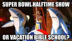 I swear, Katy Perry wore a Wii remote strap during the Super Bowl halftime show Church Memes, Church Humor, Catholic Memes, Funny Christian Memes, Christian Humor, Christian Pics, Funny Quotes, Funny Memes, Hilarious