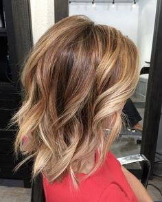 Top 13 Bronde Bob with Beach Waves for Short Hairstyles 2017