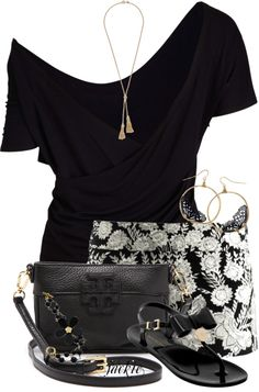 """""""Tory Burch Bag"""" by jackie22 ❤ liked on Polyvore"""