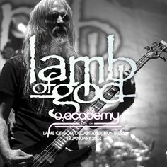 Lamb of God, Decapitated, Huntress - Brixton Academy - Heavy Metal Artwork